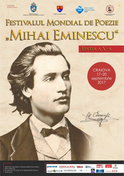 Festivalul mondial de poezie afis 2017 craiova 1